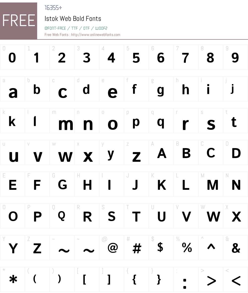 Istok Web Bold 1 0 2g Fonts Free Download - OnlineWebFonts COM