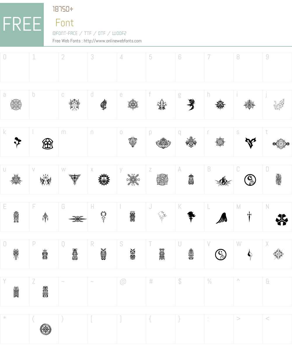 Final Fantasy Symbols 001000 Fonts Free Download Onlinewebfonts