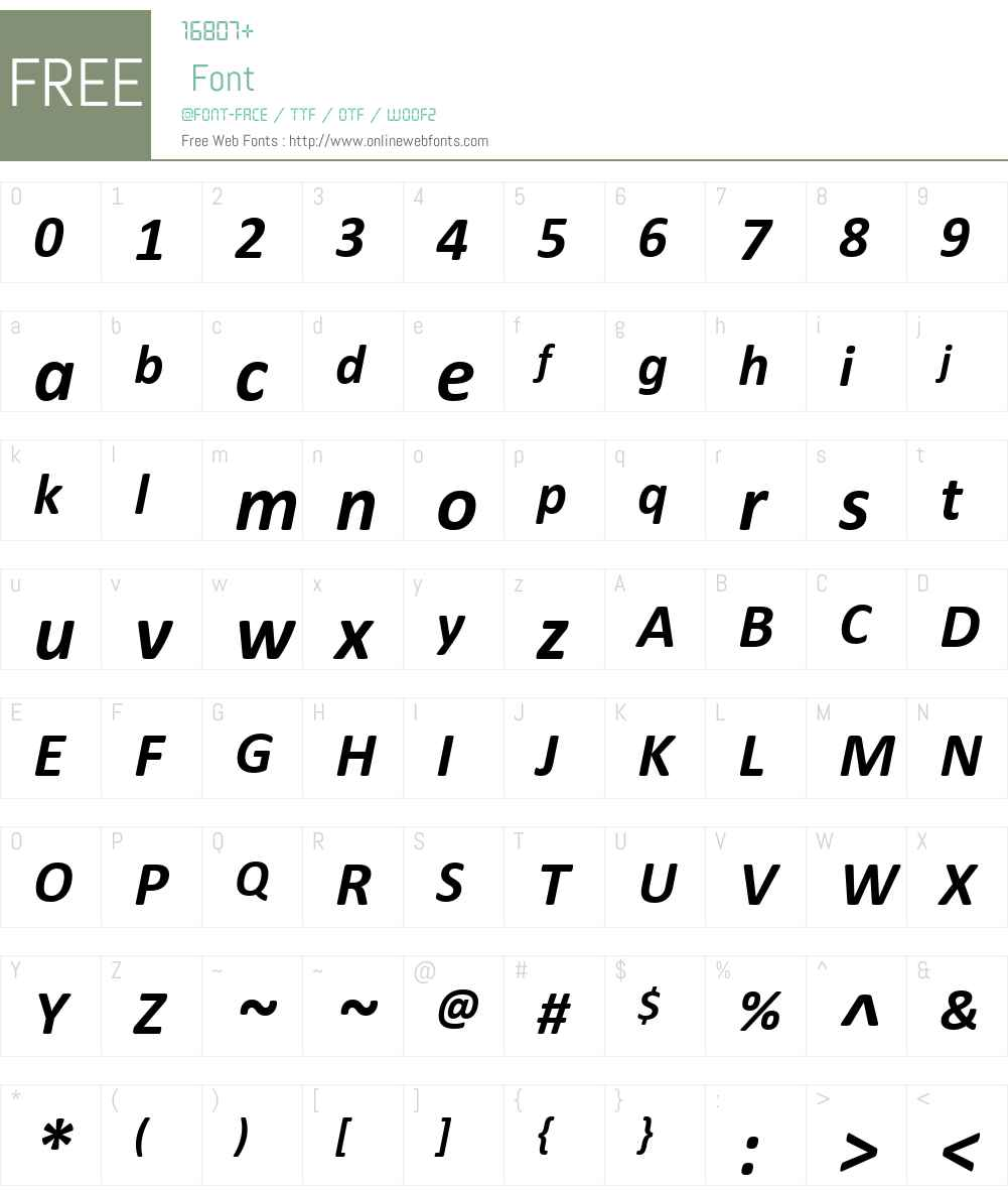 Calibri Bold Italic 5 62 Fonts Free Download