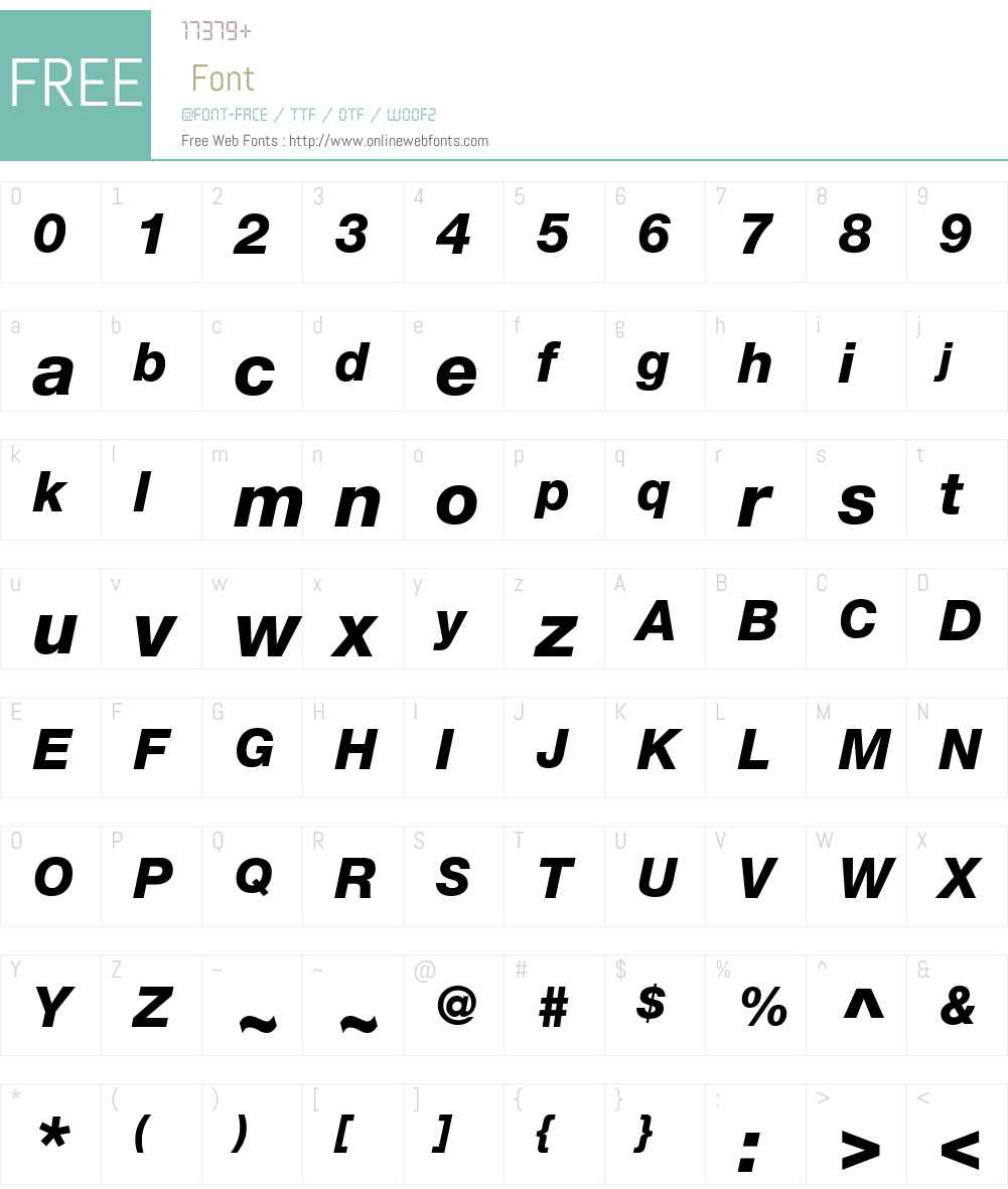 Helvetica Neue LT W06 86 Hv It 1 00 Fonts Free Download
