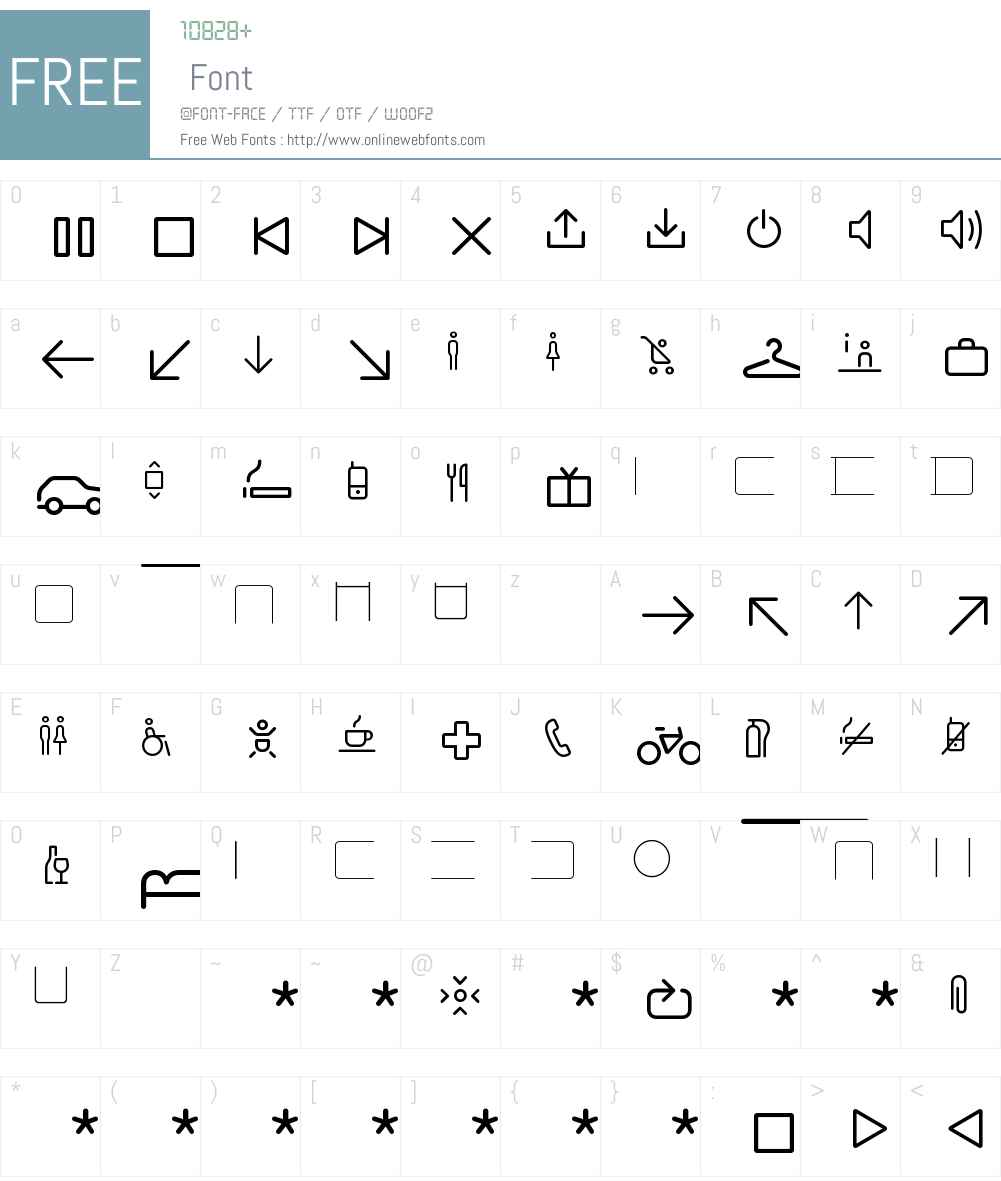 Netto Icons OT W95 Regular 7 504 Fonts Free Download