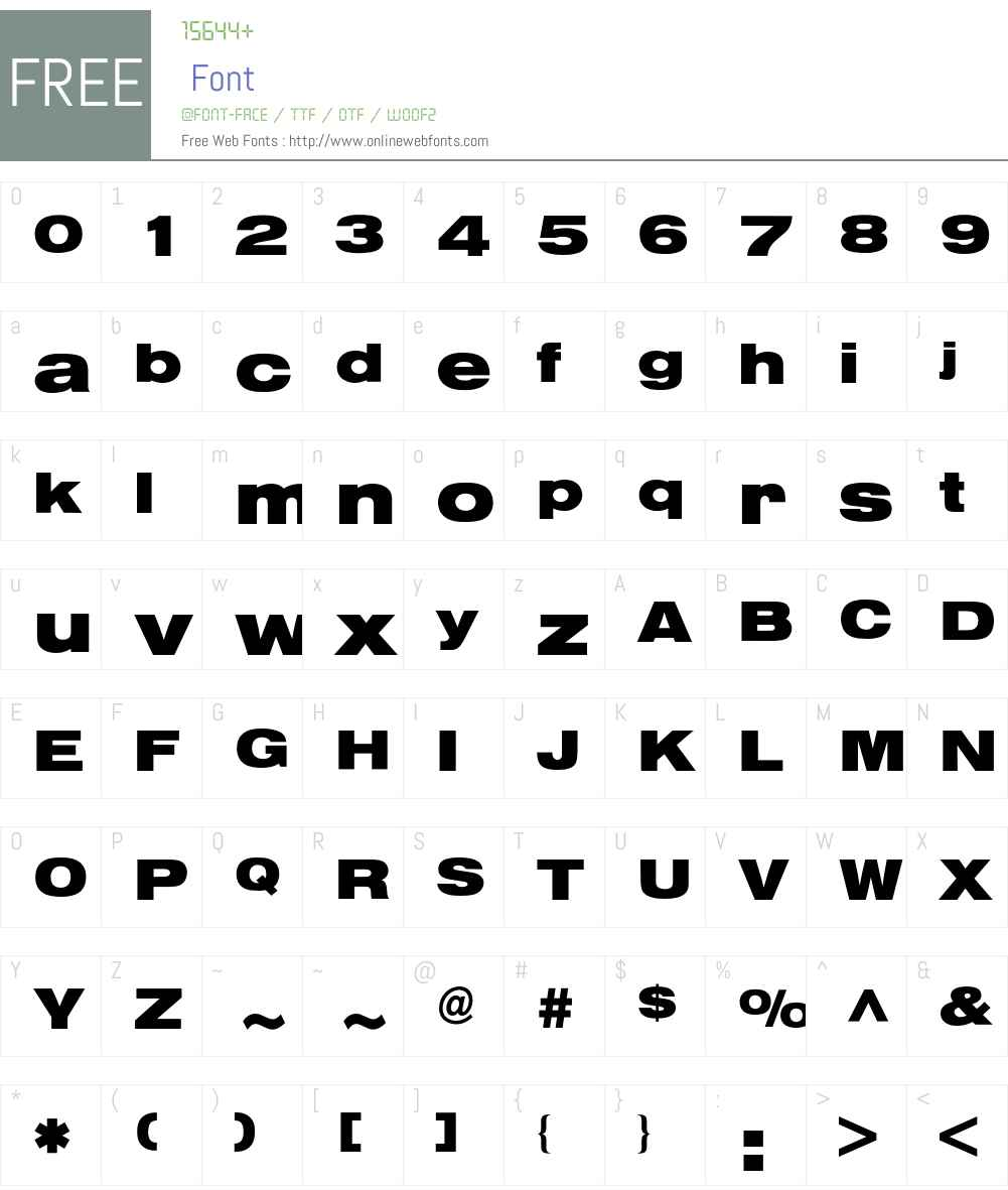 Helvetica* Extended Bold 001 000 Fonts Free Download
