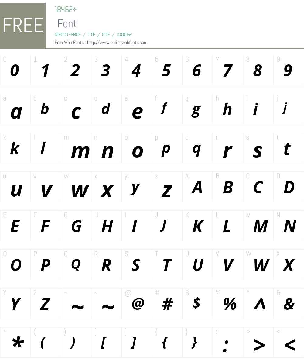 Open Sans Bold Italic 1 10 Fonts Free Download - OnlineWebFonts COM
