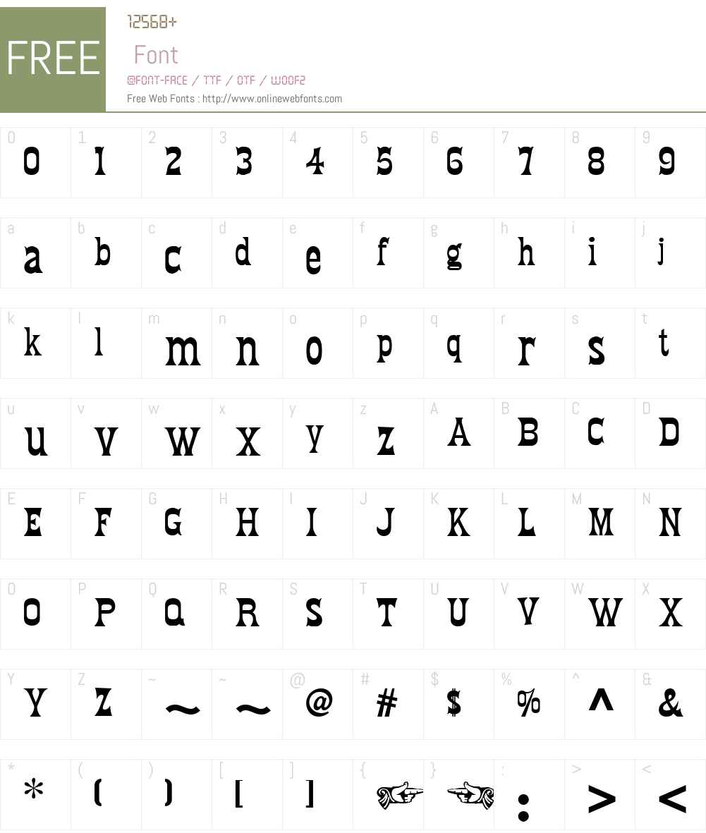 Fredericksburg NF W01 Regular 1 20 Fonts Free Download