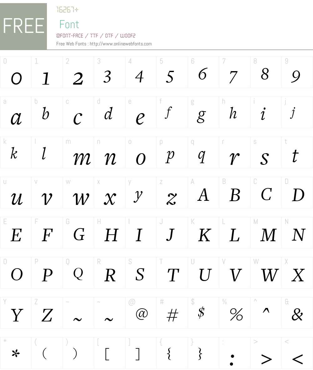 FreightText W03 Book Italic 3 00 Fonts Free Download