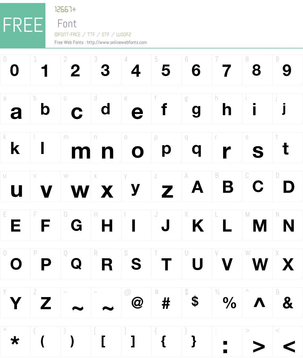 Helvetica Neue T1 55 Roman Free