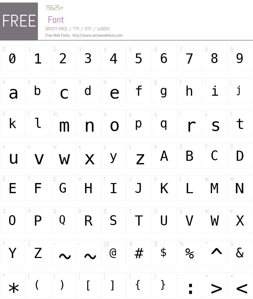 Menlo font download free pc/mac and web font.