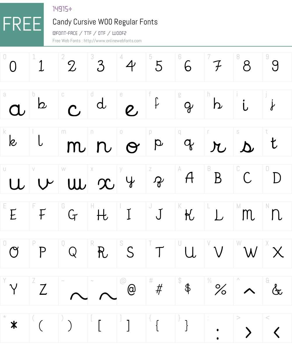 cursive free fonts