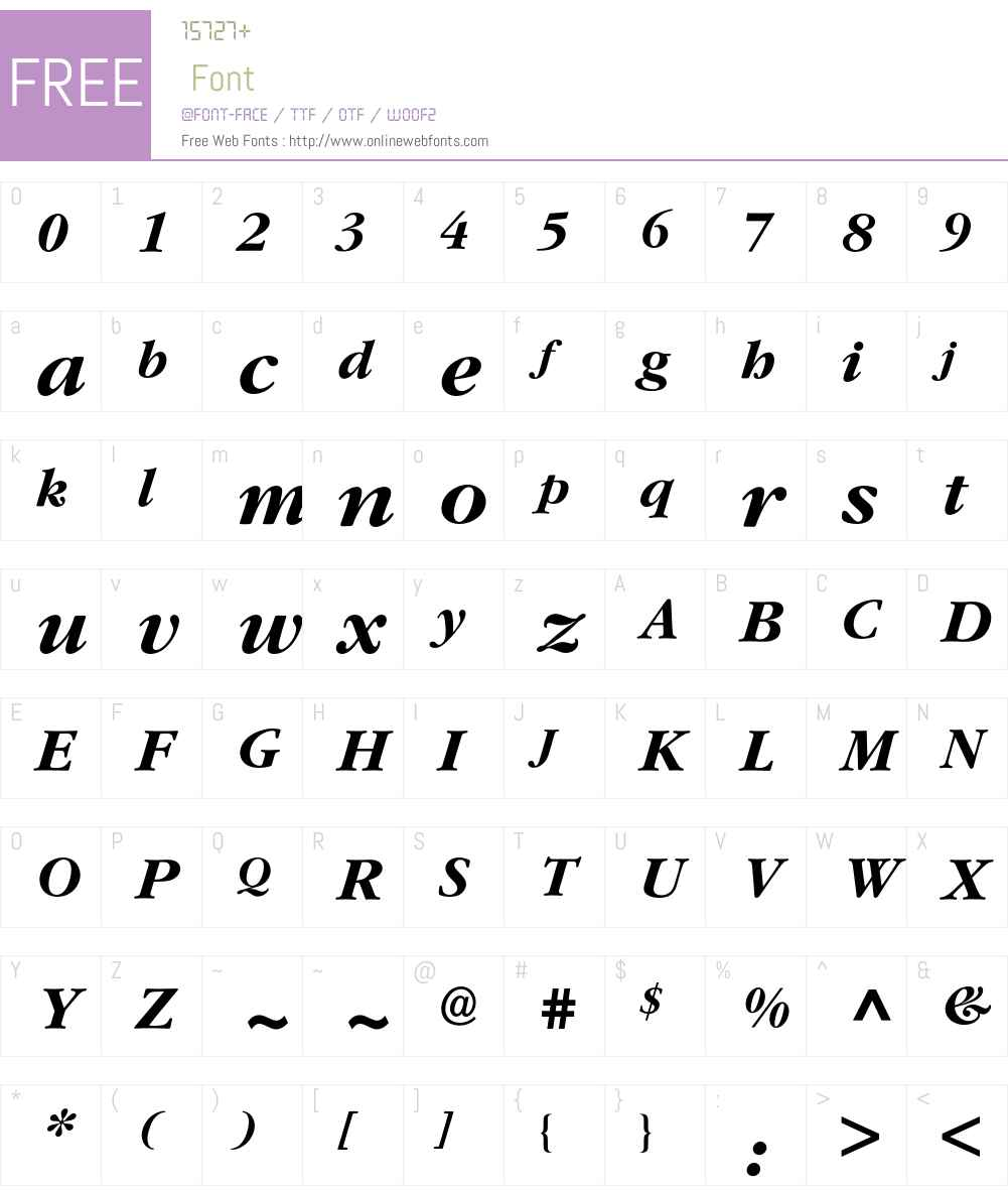 Garamond* Bold Italic 001 000 Fonts Free Download