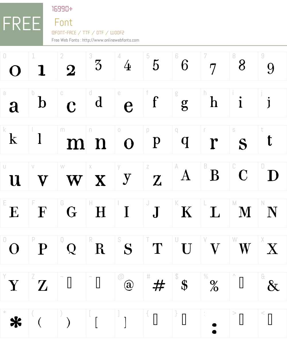 1820 Modern W00 Normal 1 00 Fonts Free Download - OnlineWebFonts COM