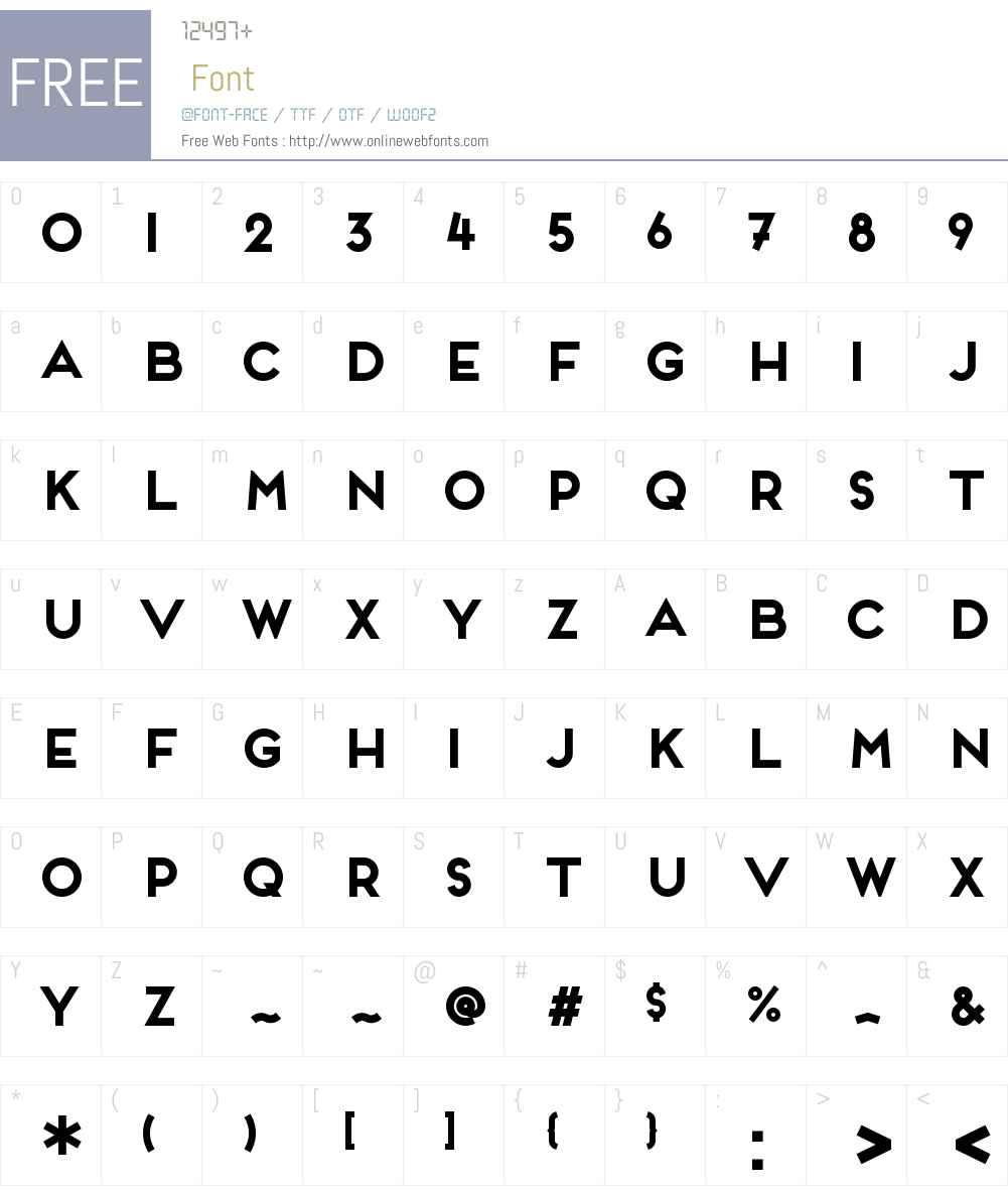 Frontage W00 Bold 1 00 Fonts Free Download - OnlineWebFonts COM