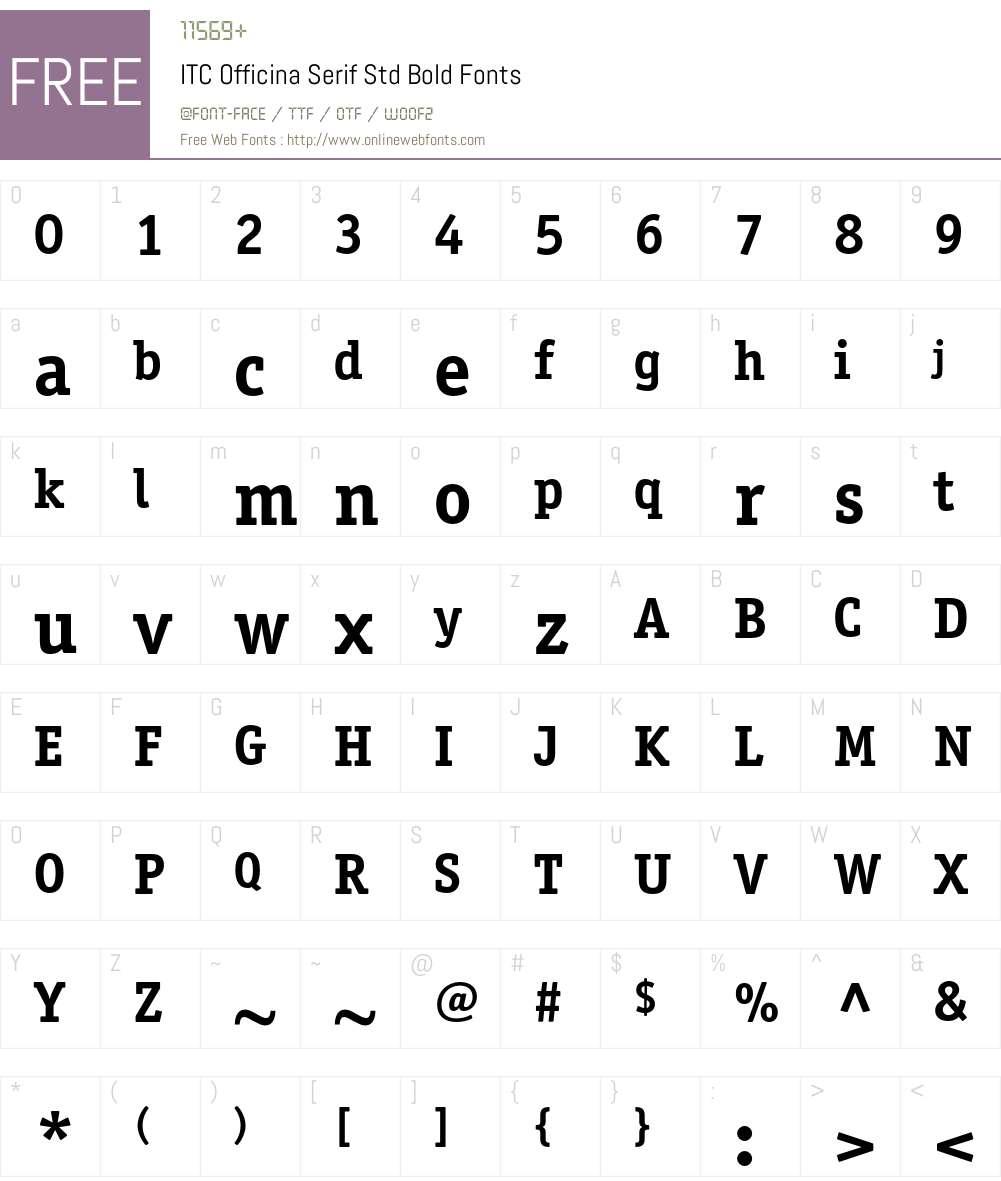 Itc officina® serif font family | linotype. Com.