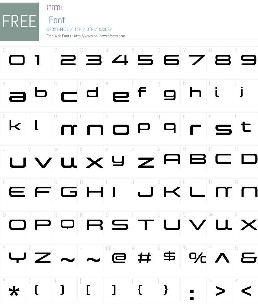 controller expanded four font free download