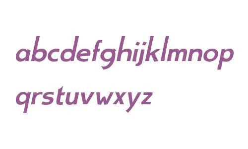 Aerle Thin W01 Bold Italic
