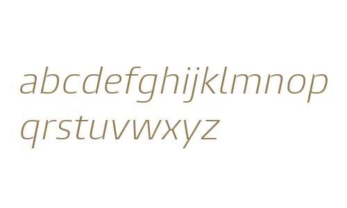 Burlingame W04 Light Italic