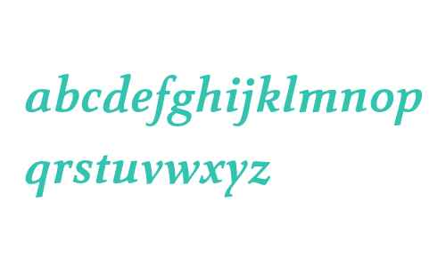 Carre Noir Std Bold Italic