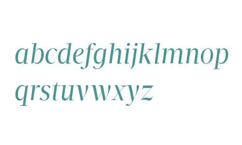 Velino Display W04 Book Italic