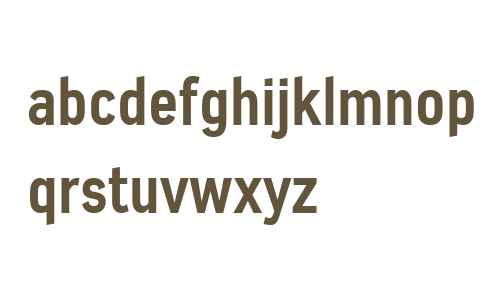 Azbuka W01 Bold Condensed