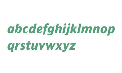 Mahsuri Sans MT W01 Extra Bd It
