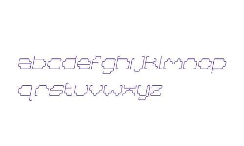 MastaLight Italic W00 Regular