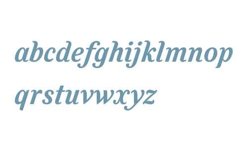 Felice W01 Bold Italic