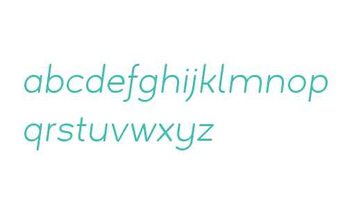 Estilo W01 Text Light Italic
