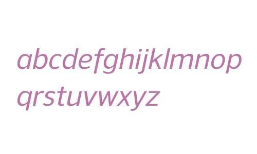 NuOrder W00 Medium Italic