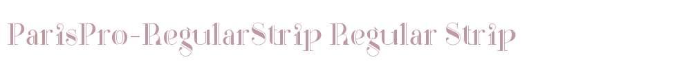 ParisPro-RegularStrip