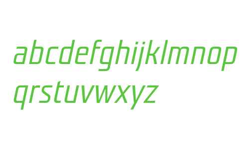 Teuton Mager Italic
