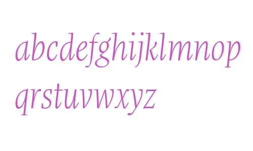 More Offc W00 Cond Light Italic
