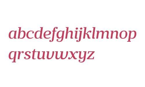 Prumo Banner W00 Medium Italic