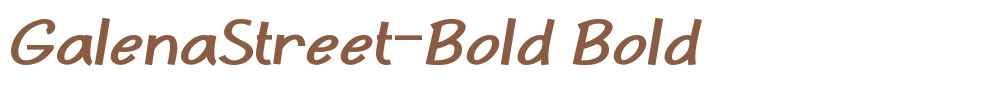 GalenaStreet-Bold