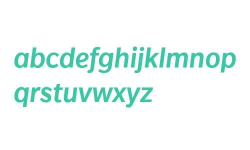 Slate W04 Medium Italic