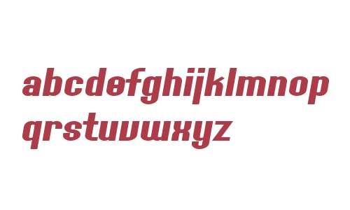 SF Willamette Extended Bold Italic V1 V2