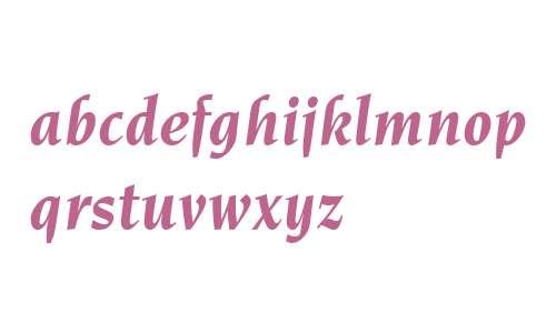 ITC Novarese W04 Bold Italic