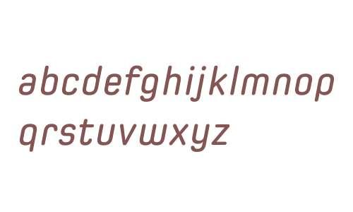 Spoon W01 Semibold Italic