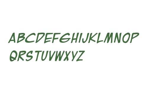 EuroComic BB Bold Italic