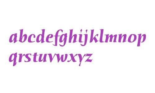 Humana Serif ITC Std Bold Italic