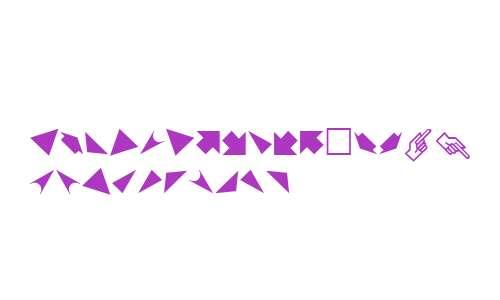PIXymbols Arrows W95 Arrows It