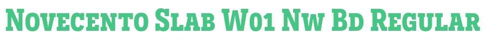 Novecento Slab W01 Nw Bd