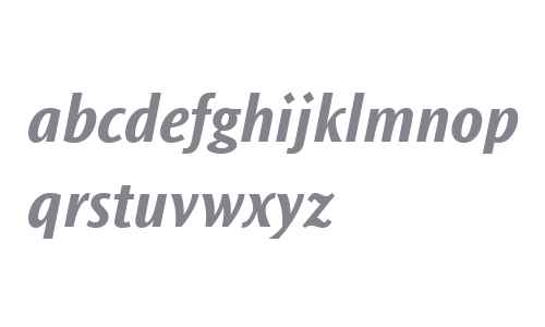Ocean Sans MT W04 Bold Italic