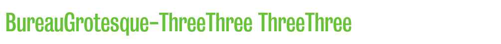 Threethree style fonts downloads onlinewebfonts com for Bureau grotesque