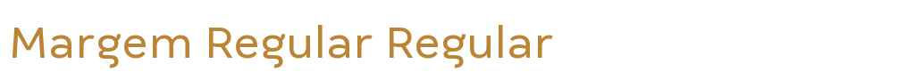 Margem Regular