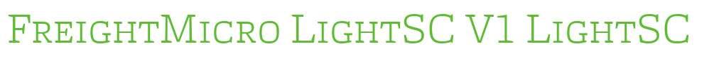 FreightMicro LightSC V1