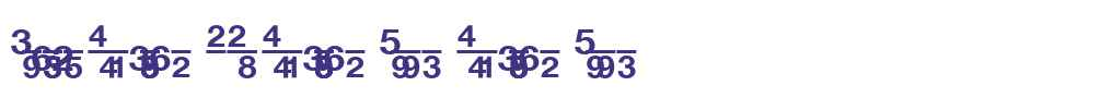 Context Fractions SSi Fractions Bold