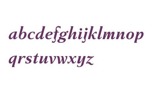 Haverj W08 Bold Italic