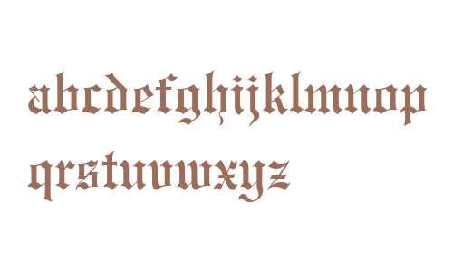 Engravers' Old English BT
