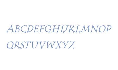 ITC Tempus Serif W01SC It SC