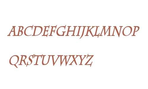 Chaz Thin Bold Italic