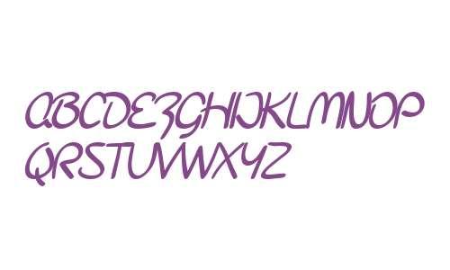 SF Burlington Script SC Bold V2 V1